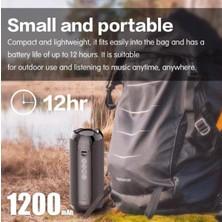 Yukka Siyah G117 20W Su Geçirmez Aux Tf USB Bluetooth Hoparlör (Yurt Dışından)