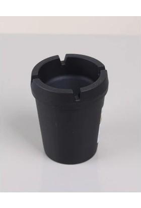 Asımoğlu Kokusuz Siyah Araba Küllük Plastik