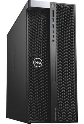Dell Precision T7820 Xeon Silver 2X4210 32GB 256GB SSD Windows 10 Pro Masaüstü Bilgisayar T7820_SILVER-4210