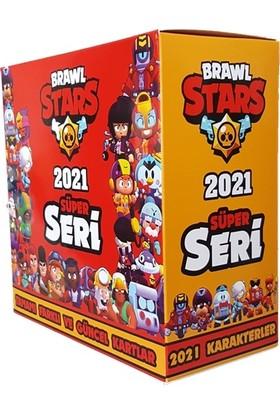 Brawl Stars 2021SÜPER Seri Oyun Kartları 360 Adet Bütün Karakterler