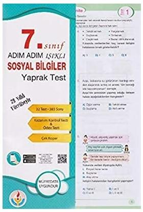 Bilal Işıklı Yayınları 7. Sınıf Sosyal Bilimler Yaprak Test