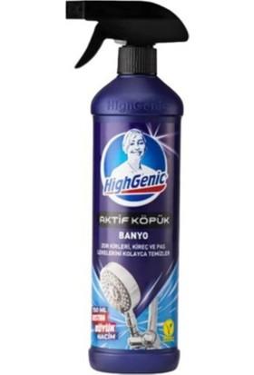 Highgenic Aktif Köpük Banyo Kireç ve Pas Temizleyici 750 ml