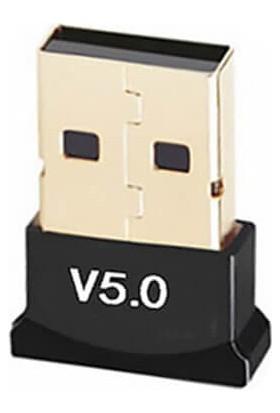 Wozlo Bluetooth Adaptör 5.0 Mini Dongle USB Alıcı Verici