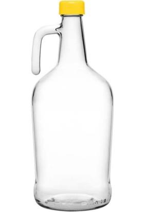 Şişecam Galon Cam Şişe 3 Lt Plastik Kapaklı Yağlık Sirkeli