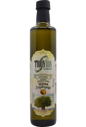 Troyida Naturel Sızma Zeytinyağı Cam Şişe 500 ml