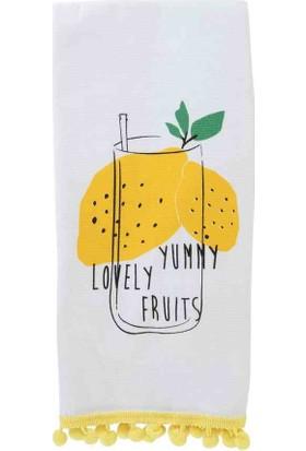 Bella Maison Pamuk Lemon 2′li Mutfak Havlusu
