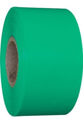 On Roll Paper Yeşil Renkli Yem Etiketi 100MM x 250M 6 Rulo