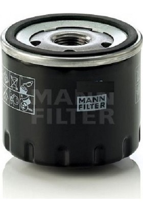 Mann Renault Premium Distribution/route Hd 460 Dxi 460HP Yağ Filtresi W11102/34 Mann
