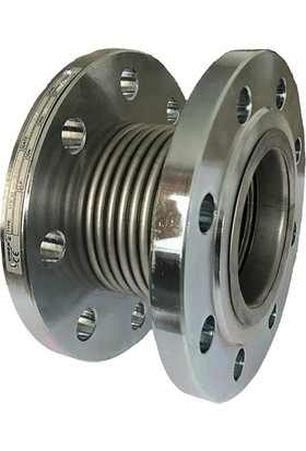 Unox 30MM Metal Körüklü Döner Flanşlı Kompansatör Laynersiz Tip