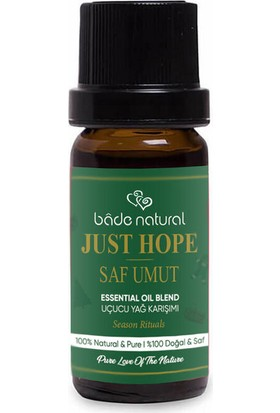 Bade Natural Saf Umut Aroma Karışımı 10 ml