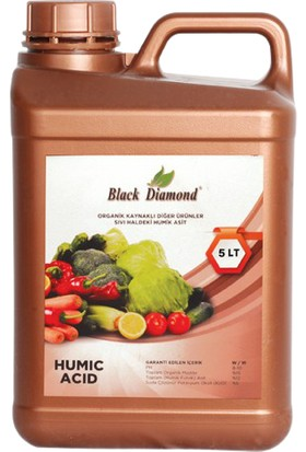 Organiksa Humik Asit Black Diamond 5 Lt