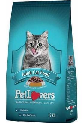 Pet Lovers Tavuklu Yetişkin Kedi Maması 15 kg