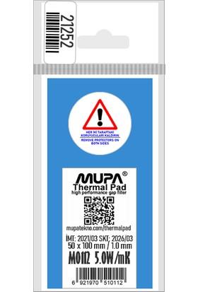 Mupa Termal Ped / Thermal Pad 1.0 mm 5.0W/MK 5X10CM M0112