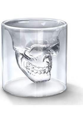 Ultraform Çiftcıdarlı Kurukafa Viski Bardak 150ML