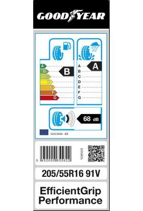 Goodyear 205/55R16 91V Efficientgrip Performance 4 Kanal Oto Yaz Lastiği ( Üretim Yılı: 2021 )