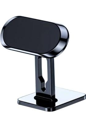 Dybox Manyetik Mıknatıslı Stand Tipi Araç Içi Telefon Tutucu SS-336Q Siyah