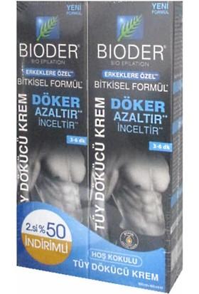 Bioder Erkeklere Özel Tüy Dökücü Krem 2X100ML