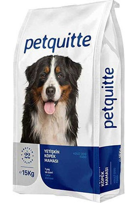 Petquitte Somonlu Yetişkin Köpek Maması 15 kg