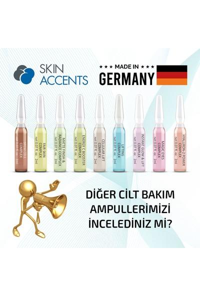 Skin Accents Kırışıklık Giderici Sıkılaştırıcı Ampul Cellular Lift Complex Cilt Serumu 3 Adet Dermaroller Dermapen Serum