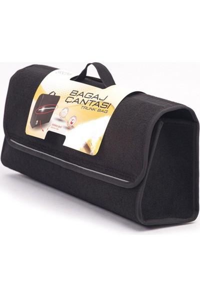 Bypet Dercozi Reflekte Şeritli Araç Bagaj Düzenleyici Sıvı Sızdırmaz Organizer Çanta