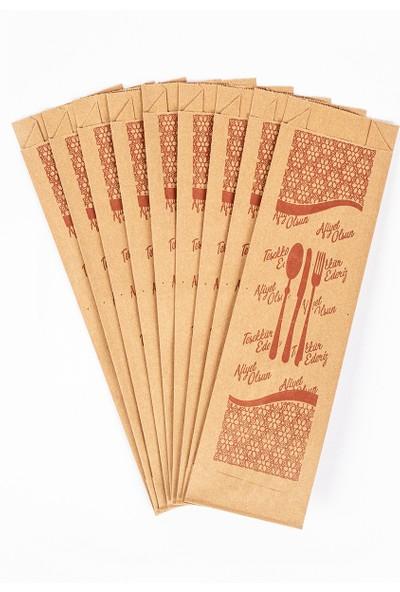 Kafe Servis Çatal Kaşık Bıçak Kağıdı 10 kg 2000'Lİ