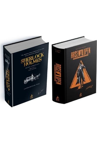 Sherlock Holmes - Arsen Lüpen Özel Baskı Ciltli Kitaplar 2 Kitap Set