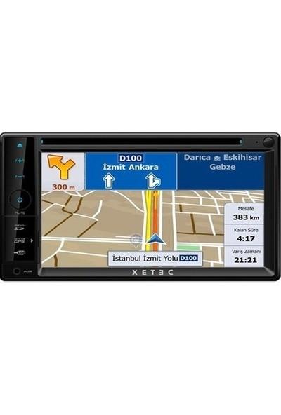 Xetec DS-3502 Dvd Usb Tv Double Din Multimedya Sistemi