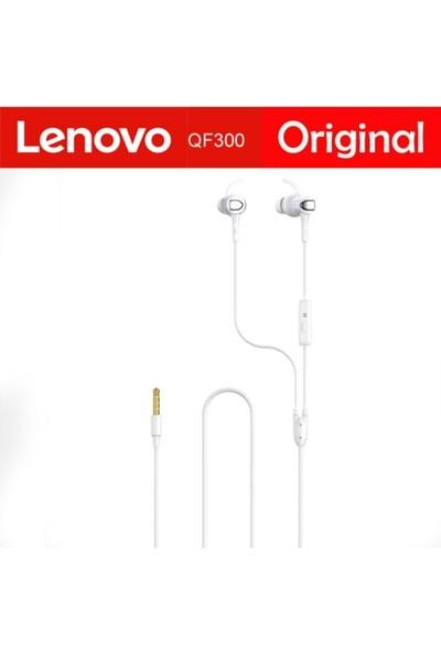 Lenovo QF300 Mikrofonlu Kulak Içi Kulaklık Beyaz