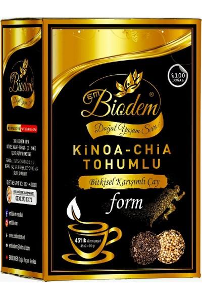 Embiodem Kinoa Chia Tohumlu Form Detox 45 Lik Poşet Çay