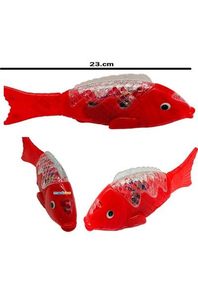 Phigo Pilli Işıklı Sesli Müzikli Yürüyen Balık 23 Cm