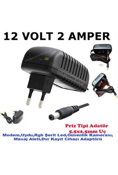 Moonkip Hhm Için 12V 2 Amper 12V 2A Hiremco Uydu Adaptörü Trafo