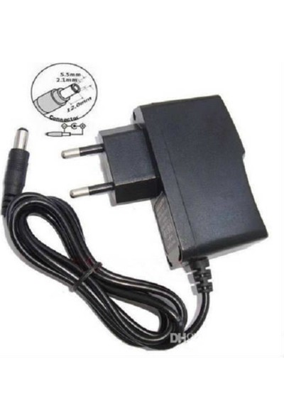 Moonkip Ac Dc Adaptör 12V 1A Adaptör 12V Ac Adaptör 12V Adaptör Tablet Modem Dijital Termostat 12V Akvaryum 12V1A Adatör 5.5x2.1mm Uç