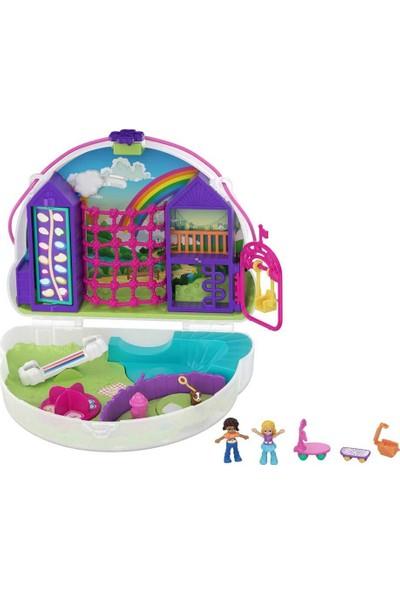 Polly Pocket Çanta Olabilen Micro Oyun Setleri GKJ63 - Rainbow Dream Purse