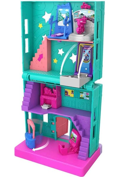 Polly Pocket Pollyville Mağazaları GGC29 - Arcade-Oyun Salonu