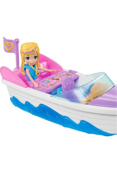 Polly Pocket ve Araçları Oyun Seti GDM08 - Sürat Teknesi