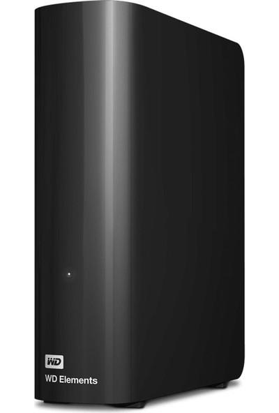 "WD lements Desktop 18TB 3.5"" USB 3.0 Taşınabilir Disk (WDBWLG0180HBK)"