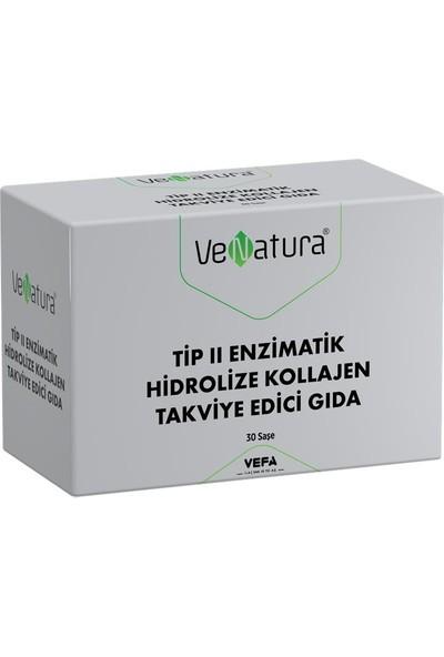 Venatura Tip 2 Enzimatik Hidrolize Kollajen Takviye Edici Gıda 30 Saşe