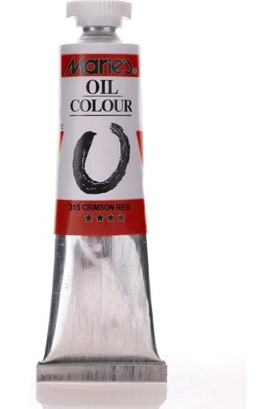 Maries 315 Oil Colour Crimson Red 50 ml