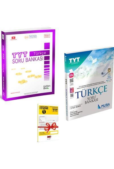 345 Yayınları TYT Türkçe Soru Bankası ve Muba Yayınları TYT Türkçe Soru Bankası Seti + Deneme