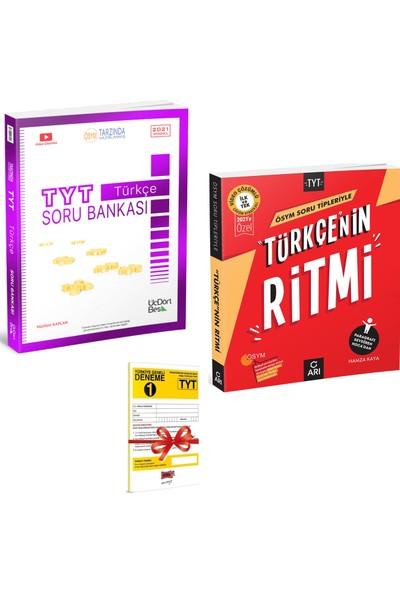 345 Yayınları TYT Türkçe Soru Bankası ve Arı Yayıncılık TYT Türkçenin Ritmi Seti + Deneme