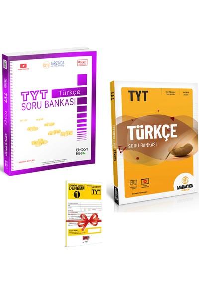 345 Yayınları TYT Türkçe Soru Bankası ve Madalyon TYT Türkçe Soru Bankası Seti + Deneme