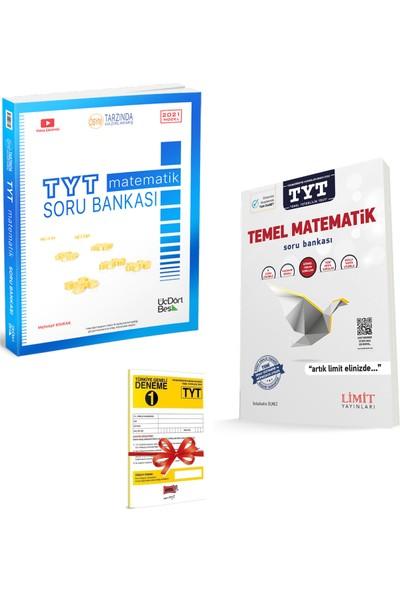345 TYT Matematik Soru Bankası ve Limit Yayınları TYT Temel Matematik Soru Bankası Seti + Deneme
