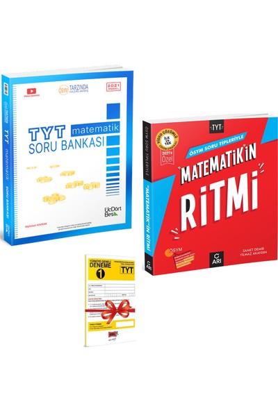 345 TYT Matematik Soru Bankası ve Arı Yayıncılık TYT Matematikin Ritmi Seti + Deneme