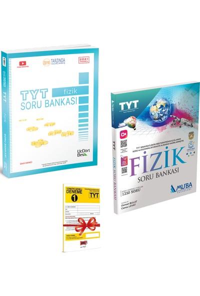 345 Yayınları TYT Fizik Soru Bankası ve Muba Yayınları TYT Fizik Soru Bankası Seti + Deneme