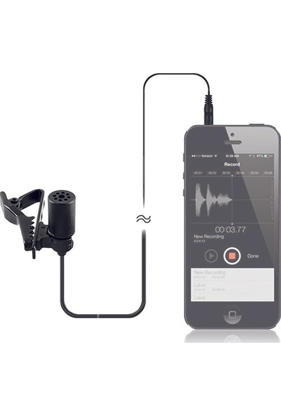 Hlypro HPR-LM30 Telefon ve Gopro Yaka Mikrofonu