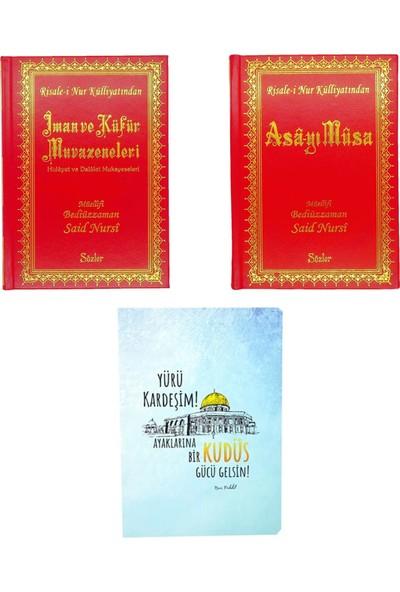 Risale i Nur Külliyatından Orta Boy Başlangıç Seti Kitapları ve Kitapçık