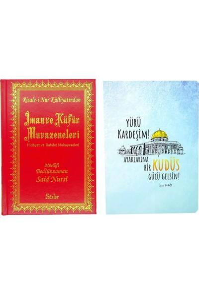 Risale i Nur Külliyatından Orta Boy İman ve Küfür Müvazeneleri Kitabı ve Kitapçık