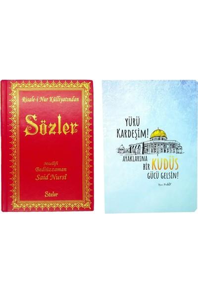 Risale-i Nur Külliyatından Orta Boy Sözler Kitabı ve Kitapçık