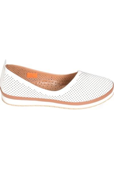 Golden Mountain Maximino 401 Kadın Deri Babet Ayakkabı