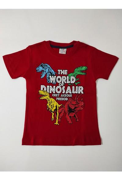 Koçak Kids Dinozor Baskılı Ikili Şortlu Takım 10039
